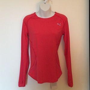 Puma Athletic Long Sleeve Top - Never worn!
